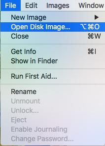 打开虚拟硬盘文件